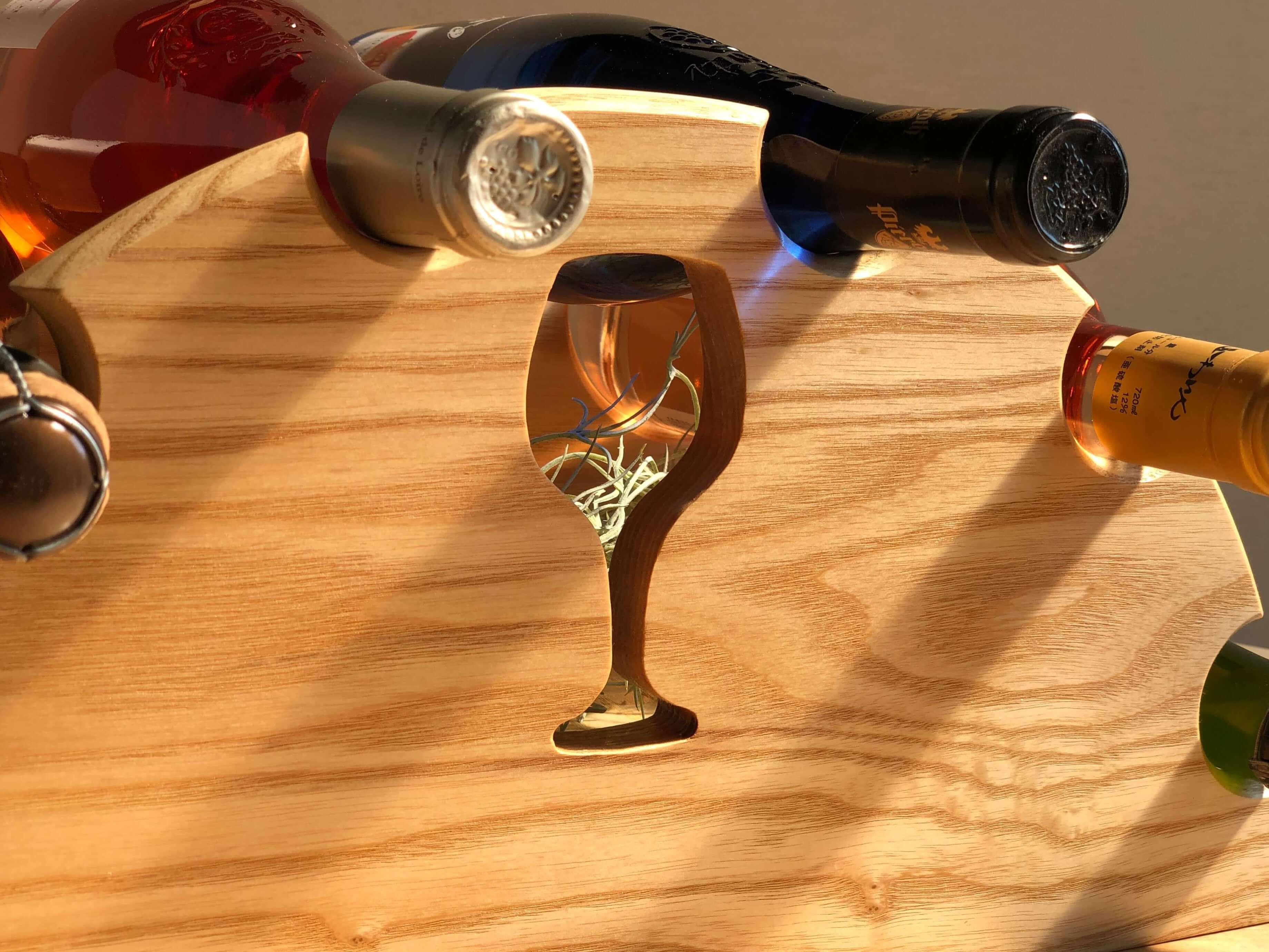 ワインラック 木製